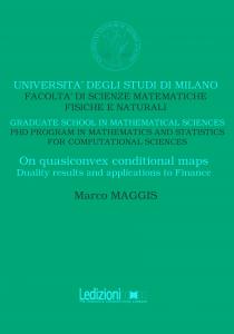 On quasiconvex conditional maps
